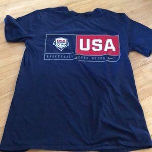 USA basketball shirt. Medium.